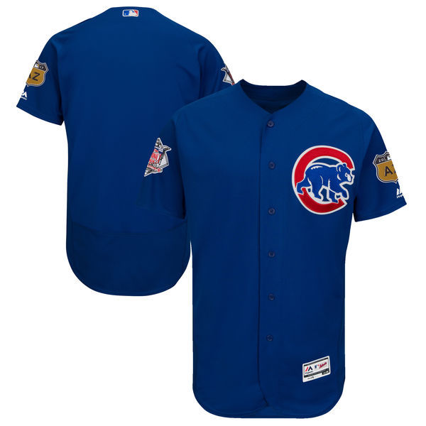 2017 MLB Chicago Cubs Blank Blue Jerseys